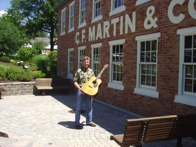 Bringing the 1946 back home to the Martin factory