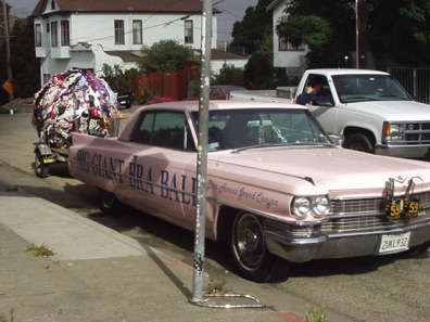The Bra Car, a Crockett fixture for many years